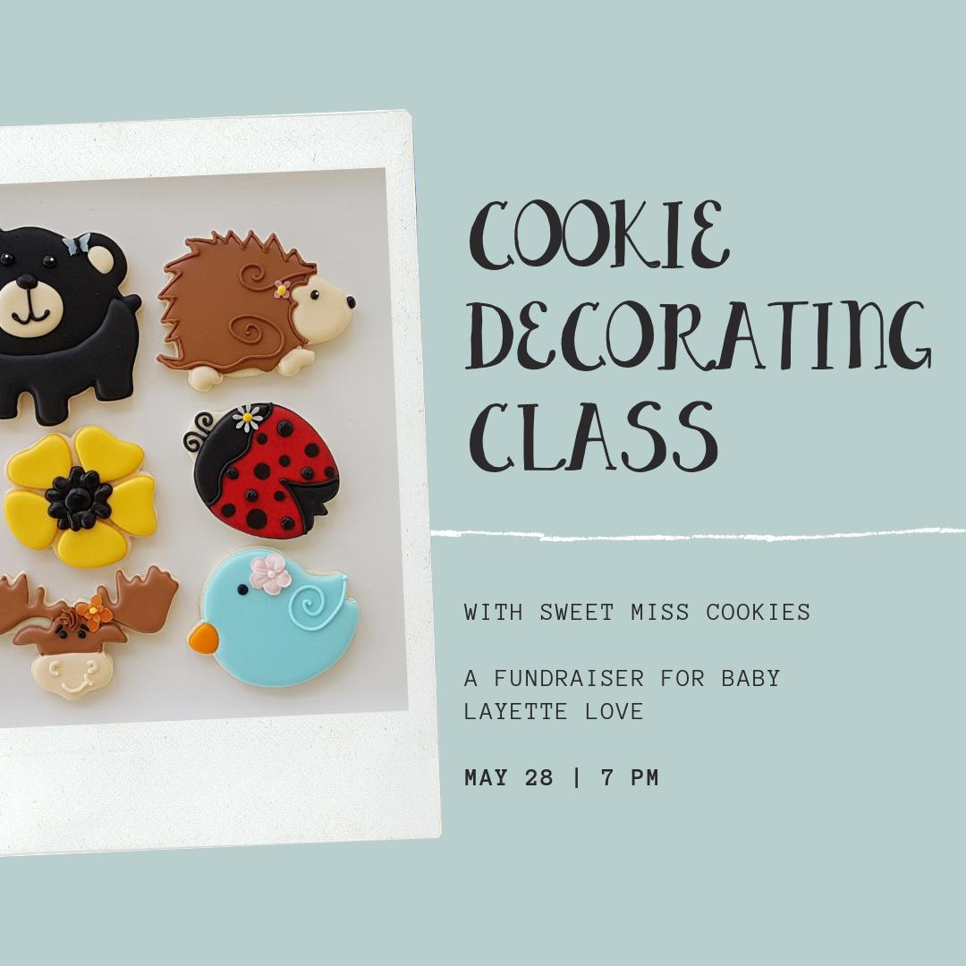 cookie decor class